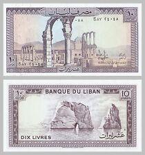 Libanon / Lebanon 10 Livres 1986 p63f unz.