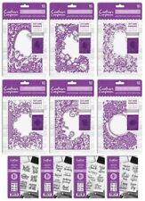 """*NEW*  5"""" x 7"""" Cut & Emboss Folders / A6 Stamps Crafter's Companion March 2018"""