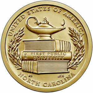🇺🇸 US 1 Dollar coin USA $1, American Innovation - North Carolina, 2021