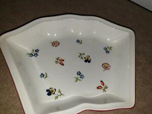 VILLEROY&BOCH   Petite fleur     Platte 24x17 cm