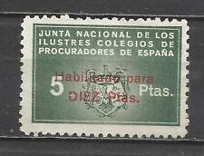 0710-SELLO FISCAL CORPORATIVO COLEGIO PROCURADORES 10+5