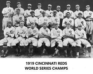 1919 CINCINNATI REDS 8X10 TEAM PHOTO BASEBALL PICTURE MLB