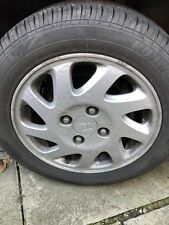 """Honda Civic accord Prelude 4x114.3 Alloy Wheels 15"""" OEM With Good Tyres"""