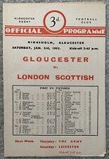 More details for gloucester v london scottish 1952/53