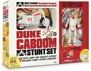 Disney Toy Story 4 Signature Collection - Duke Caboom Stunt Set *NEW & BOXED*
