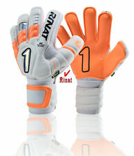Rinat goalkeeper Uno Premer spine semi gloves (Orange size,9 ) 5 finger save