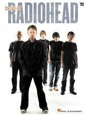 Best of Radiohead for Piano Solo Sheet Music Piano Solo Book NEW 000109302