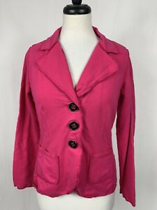 Neon Buddha Magenta Pink Jacket Blazer XS