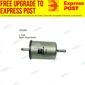 Wesfil Fuel Filter WZ200 fits Holden Statesman VQ 3.8 V6,VQ 5.0 V8 308 (Black