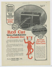 1924 Red Cat Chevrolet Rod Cover Ad: G.A. Roth Mfg. Co. Hastings, Nebraska