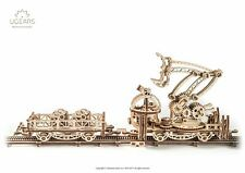 Ugears - Mechanical Series Rail Manipulator- Laser Cut Wood - 356 Parts