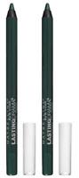 Maybelline Eyestudio Lasting Drama Waterproof Gel Pencil Glossy Emerald (2 Pack)