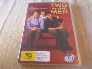 Two And A Half Men : Season 1 (4x DVD, 2008) Region 4 Jon Cryer, Charlie Sheen