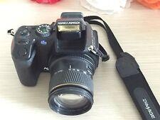 Konica Minolta DiMAGE A200 8,0 MP Digitalkamera - Schwarz