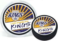 Los Angeles Kings Reverse Retro 3D Textured Classic Puck (in Display Tube)
