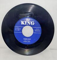 Drinkin Blues/Adam Come Get Your Rib Wynonie Harris 45 RPM King Records 4565