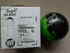 DV8 15 lb Lime Luster Spare Ball