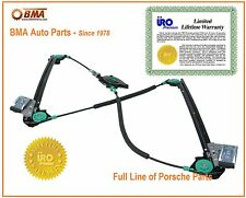 Porsche LH Window Regulator,Boxster & 911 (1997-05) LIFETIME WARRNTY 99654207504