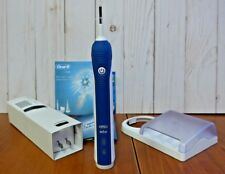 Oral-B Professional Healthy Floss Action Precision 3500 Electric Toothbrush Blue