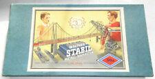 WALTHER´S STABIL METALL-BAUKASTEN 50a Vintage 1950er. 33x17,5x2,7cm B- Neukölln