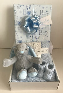 Baby Boy Gift Hamper Basket Maternity Shower Gift Baby New Baby Boy Gift Idea