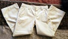 New Girls Gap Kids Beige Adjustable Waist Pants Size 10 Plus