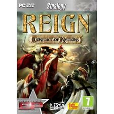 Reign Conflict Of Nations Game PC 100% Brand New