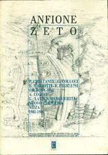 ANFIONE ZETO - Anno I, N. 2-3, 1989. Nuovo cimitero di Nizza