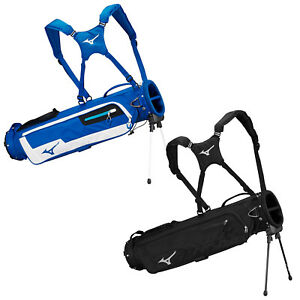 2021 Mizuno Mens BR-D2 Golf Mini Stand Bag Dual Strap Carry 2 Way Full Divider