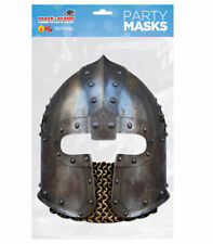 Norman Knight's Helmet Historical Single 2D Card Party Face Mask