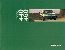 Volvo 440 & 460 1995-96 UK Market Sales Brochure Base S Si SE GLT CD