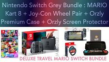 Nintendo Switch Console MARIO Kart 8 DELUXE TRAVEL BUNDLE