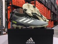 Adidas Men's Predator 19.3 FG Soccer Cleats (Legacy Green/Sand) Size: 7-13 NEW!