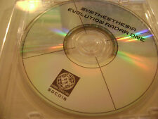 Synthesthesia - Evolution Radar One (CD Disc Only, Electronica) Hybrid Structure