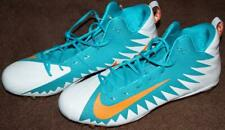 MIAMI DOLPHINS TEAM ISSUED NIKE SIZE 18 CLEATS