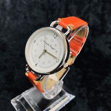 Reloj de Pulsera diseñador Gabriella vicenga con Correa Rojo Brillante Batería Nueva