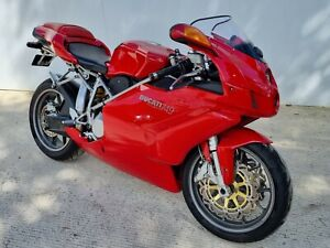 Ducati 749 Biposto 2006 06 plate, only 2770 miles