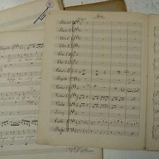 Orquesta partes Die Lustigen Weiber Von Windsor, Arie, Nicolai