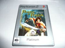 PRINCE OF PERSIA THE STAND OF TIME PS2 GAME NEW