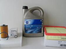 Opel Astra H 1,6 Ölwechselset Inspektionspaket Luftfilter Pollenfilter