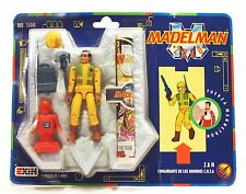 "1989 Exin 3-3/4"" Madelman 2050 ZAN G2 action figure Mint On Card MOC Ref. 1500"
