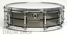 LUDWIG Black Magic Snare Drum 5x14 Black Nickel Over Brass (LW5514C)  NEW