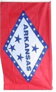 State of Arkansas Flag 4x6 Foot Flag Banner (150 Denier)