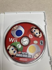 New Super Mario Bros. Wii (Nintendo Wii, 2009) Disc Only Tested Working
