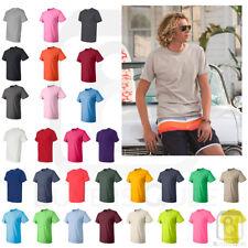 Fruit of the Loom Mens HD Cotton Short Sleeve Plain Blank T-Shirt S-6XL - 3930R