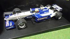 F1 WILLIAMS BMW FW23 2001 Schumacher 1/18 Minichamps 100010005 voiture miniature