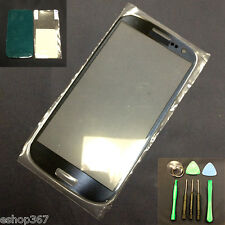 New Pebble Blue Outer Screen Lens Glass for Samsung Galaxy S3 SIII +Tools i9300