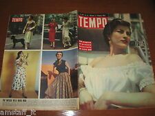 RIVISTA TEMPO 1952/21=IRENE PAPA=MAGO CARAPELLA=STORIA ITALIANITA' TRIESTE=
