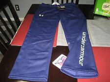GIRLS YOUTH UNDER ARMOUR COLDGEAR STORM PANTS SIZE YLG LARGE L PURPLE NWT