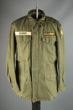 Vtg Men's 1952 Korean War US Army Rangers M-51 Field Jacket S Reg 50s USMA #6944